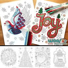 beautiful printable christmas coloring pages woo jr kids