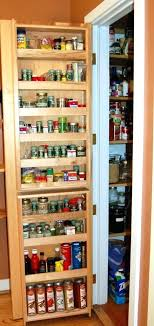 Wall Mount Spice Cabinet With Doors Spice Cabinet Wall Mount Spice Rack Spice Storage Spice Storage