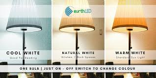 multi bulb table l multi color led bulb one bulb three wattage cool white natural