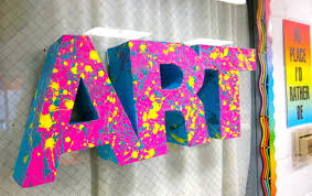 art projects cassie stephens in the art room 3 d letters