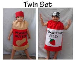 Peanut Butter And Jelly Costume Kids Costume Popcorn Box Halloween Costume Photo Prop Toddler