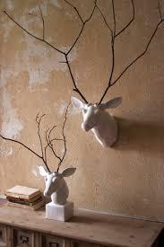white ceramic mounted deer head ok i u0027m gettin u0027 a little crazy