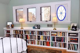 several concept of under window bookcase at your bedroom homesfeed