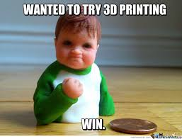 I Know What You Did There Meme - i see what you did there meme 3d printing challenge 3d printer world