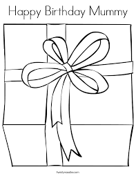 happy birthday mommy coloring pages fee happy birthday mummy