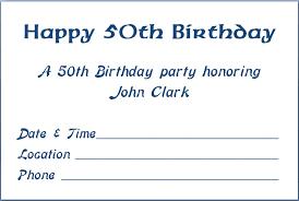 blank 50th birthday party invitations templates drevio