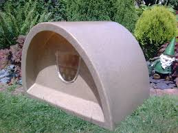 Extra Large Igloo Dog House Furniture Soft Brown Plush Igloo Dog House For Pretty Pet