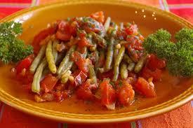 cuisiner les haricots verts recette de haricots verts à l italienne la recette facile