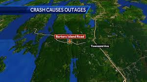Boothbay Botanical Gardens Crash Knocks Out Power To Boothbay Botanical Gardens Attraction