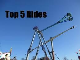 top 5 rides at winter 2016