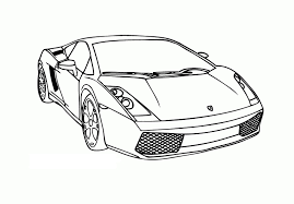 printable lamborghini coloring pages coloringstar