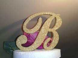 s cake topper cake toppers beverly clark 702326gc design 4inch gold