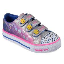 light up shoes size 12 skechers twinkle toes shuffles expressionista emoji girls light up