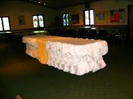 Gourmet Table Skirts Table Skirting By Butler Chef Marciano Youtube
