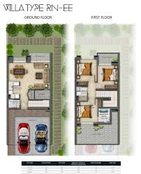 damac hajar stone villas floor plans