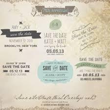 save the date word overlays vol 2 overlays savethedate2 7 00
