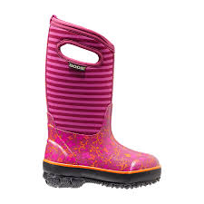 s bogs boots canada flower stripes insulated boots 71560