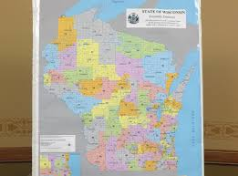 Map Of Central Wisconsin by Federal Court Orders Wisconsin Legislature To Redraw District