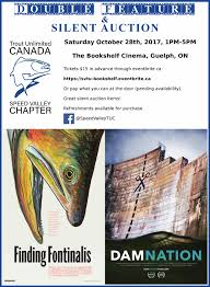 Bookshelf Guelph Speed Valley Chapter Of Trout Unlimited Canada Fundraiser