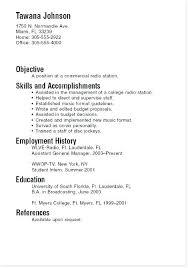 resume exles for college internships in florida sle college student resume for internship