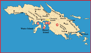 st islands map st map historic places in and the