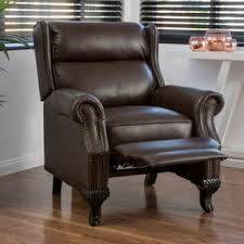 Faux Leather Recliner Faux Leather Recliner Chairs U0026 Rocking Recliners Shop The Best