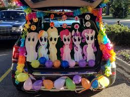 my little pony trunk or treat halloween decoration by logan7ms on