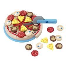 cuisine imaginarium pizza di legno con ingredienti deliset pizza
