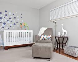Modern Nursery Wall Decor Bedroom Cool Modern Nursery Ideas For Boys With White Crib And