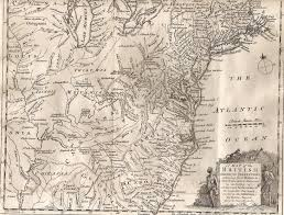 Map Of Delaware Ohio by 1750 To 1754 Pennsylvania Maps