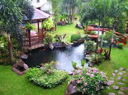 Backyard Shows Oriental Backyard Landscaping Shows Decorative Gazebo Set Beside