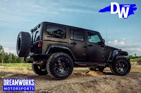 black jeep wrangler gerald wallace u0027s jeep wrangler unlimited u2014 dreamworks motorsports