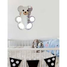 stickers nounours pour chambre bébé miroir bébé nounours