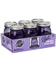 Purple Canisters For The Kitchen Amazon Com Purple Jars Canning Home U0026 Kitchen