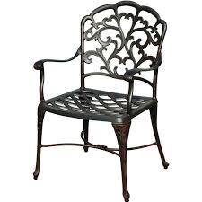 Cast Aluminum Patio Chairs Darlee Catalina 7 Piece Cast Aluminum Patio Dining Set With Oval