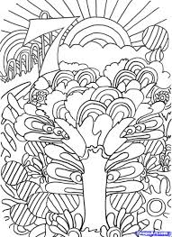 trippy color pages trippy coloring pages mushrooms trippy
