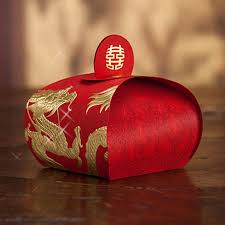 asian wrapping paper wedding favor boxes 2015 asian theme dragons and phoenixes