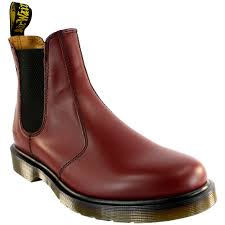 womens boots uk size 8 ladiess dr martens airwair leather chelsea style low heel ankle