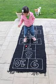 the sewing dork guest tutorial how to make a hopscotch rug
