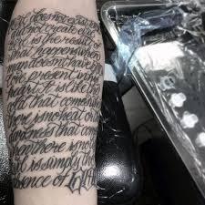 61 forearm quote tattoos golfian com
