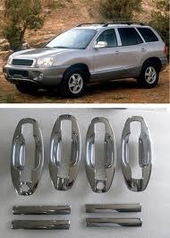 2002 hyundai santa fe price aliexpress com buy funduoo abs chrome door handle covers