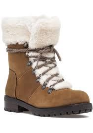 ugg boots sale in leeds lyst ugg ugg fraser genuine shearling water resistant boot in black