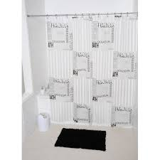 Shower Curtains With Writing Found It At Wayfair Writings Printed Shower Curtain Bathroom