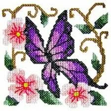 butterfly4 cross stitch butterfly machine embroidery design