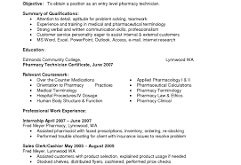 pharmacy technician resume exles pharmacy technician resume exles for your exle entry