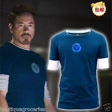 Tony Stark Halloween Costume Iron Man Costume Shirt Ebay