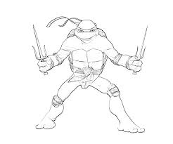 ninja turtles coloring pages raphael