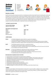 resume for retail jobs no experience luxury resume for retail assistant with no experience 47 for your