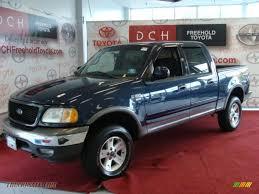 Ford F150 Truck 2002 - 2002 ford f150 fx4 supercrew 4x4 in charcoal blue metallic