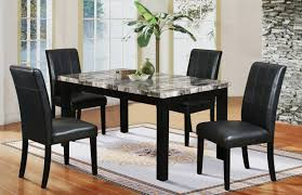 Black Dining Room Table And Chairs Latitude Run Cahill 5 Piece Dining Set U0026 Reviews Wayfair